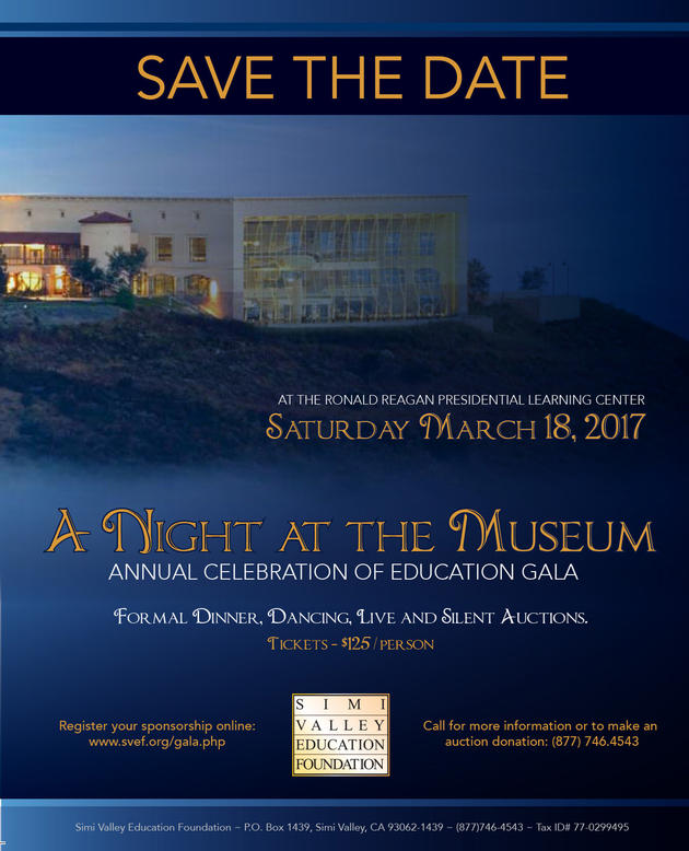 Ed Foundation Gala-Save the Date